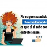 Adicta a Facebook