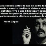 Frank Zappa-La Escuela