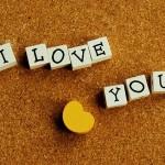i love you. te amo