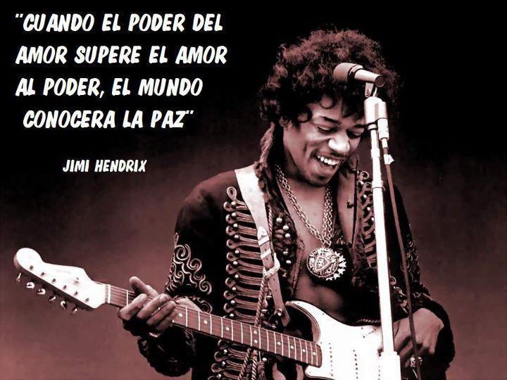Jimi Hendrix, frases, citas, imágenes y memes