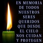 En memoria de todos...