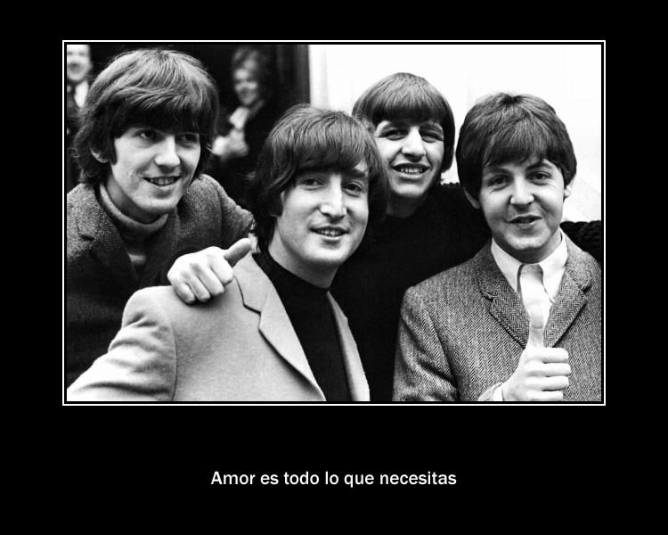 Amor es todo lo que necesitas. Beatles