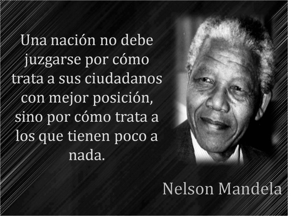 Nelson Mandela, frases, citas, imágenes y memes
