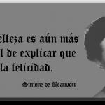 Simone de Beauvoir - La Belleza