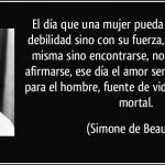Simone de Beauvoir, frases, citas, imágenes y memes