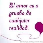 El amor es a prueba de cualquier realidad