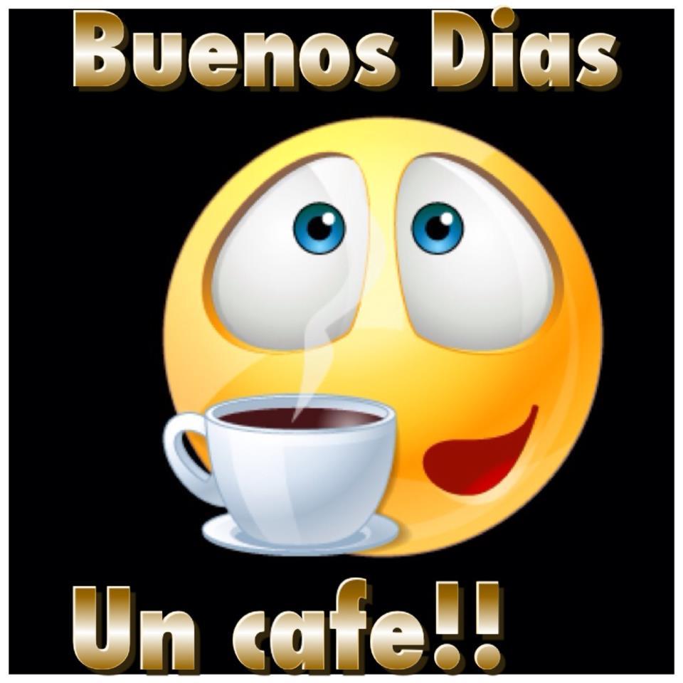 Buenos Días. Un café!!