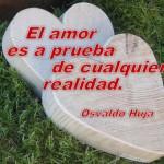 El amor es a prueba