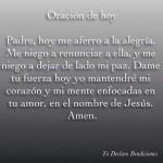 Oración de Hoy