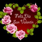 Feliz Día de San Valentín. Mi amor por ti va creciendo y creciendo como nubes en el cielo dando vueltas por el mundo hasta el infinito. Feliz dia de los enamorados !