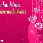 Te quiero muchiiiiisimo. Feliz San Valentín