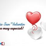 Feliz San Valentín. Eres muy especial!