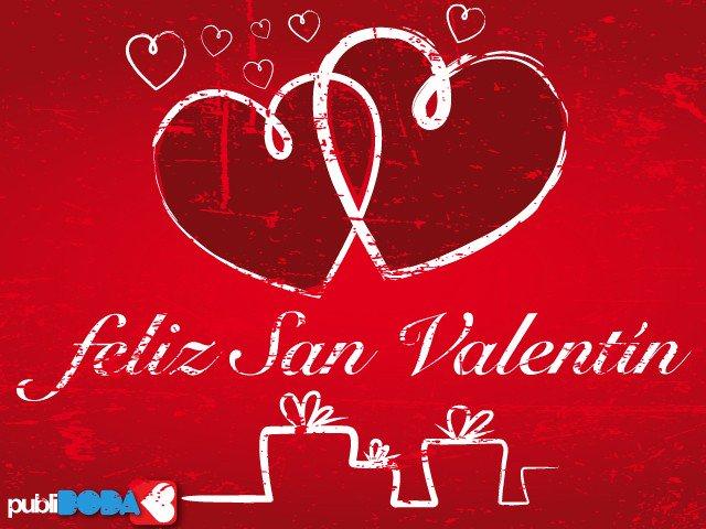 Feliz San Valentín. El amor lo inventó un chico con los ojos cerrados, por eso somos ciegos todos los enamorados…