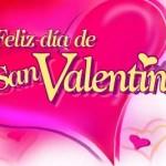 Feliz día de San Valentín. El amor verdadero.