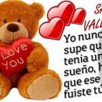 I Love You. Feliz San Valentín.