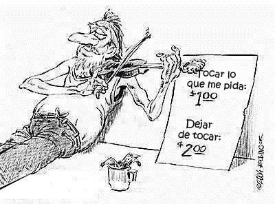 Músico Callejero y Tarifas