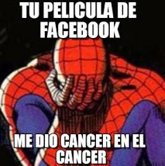 Tu película de Facebook, me dio Cáncer en el Cáncer.