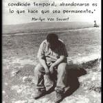 Ser derrotado es a menudo una condición temporal