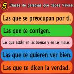 5 Clases de personas que debes Valorar