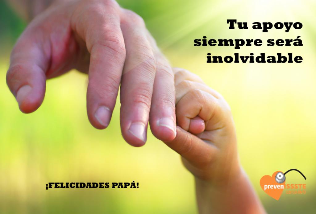 ¡Felicidades Papá! Tu apoyo siempre será inolvidable