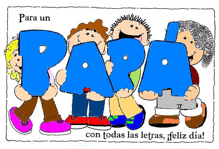 Para un Papá con todas las letras, ¡Feliz Día!