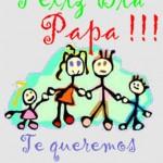 Feliz Día Papá!!! Te queremos mucho.