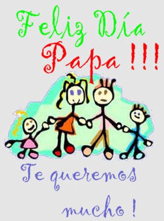 Feliz Día Papá!!! Te queremos mucho. Padre te rendimos homenaje hoy porque nos has dado la vida, porque nos proteges, porque nos cuidas, porque nos educas Y porque te preocupas por nosotros, tus hijos.