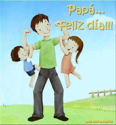 Papá... Feliz Día!!! Es hermoso que los padres lleguen a ser amigos de sus hijos, desvaneciéndoles todo temor, pero inspirándoles un gran respeto.