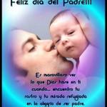 Feliz Día del Padre!!!! Es maravilloso ver lo que Dios hace en ti cuando... encuentro tu rostro y tu mirada refugiada en la alegría de ser padre.