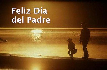 Feliz Día del Padre. No es la carne y la sangre, sino el corazón, lo que nos hace padres e hijos.