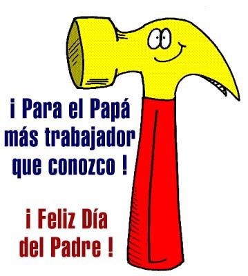 ¡Para el Papá más trabajador que conozco! ¡Feliz Día del Padre!