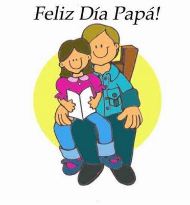 Feliz Día Papá!!! Gracias por haberme educado así. Estoy orgullosa de ser como soy y eso te lo debo a ti. Te quiero papá.
