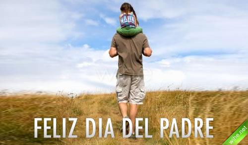 Feliz Día del Padre. Sé generoso con tu padre; cuando fuiste joven, ¿Quién te amó como él? Tu padre atrapó los primeros balbuceos que salieron de tu boca y compartió tu inocente alegría.