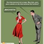 Día Internacional de la Mujer. Muy bien
