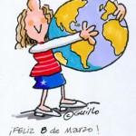¡Feliz 8 de Marzo! Mujeres del mundo