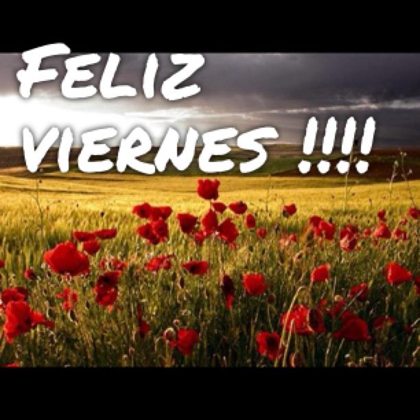 Feliz Viernes!!!!