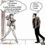 Hombre y Mujeres Perspicaces