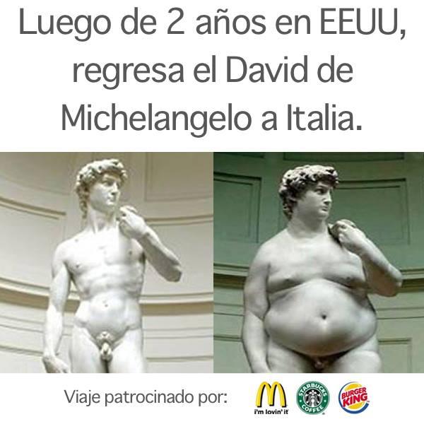 Luego de 2 años en Estados Unidos, regresa el David de Michelangelo a Italia.