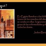 En Egipto llamaban a las bibliotecas...