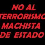 No al terrorismo machista del Estado
