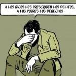 A los ricos les prescriben los delitos...
