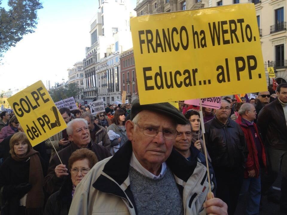 Franco ha Werto. Educar...al PP.
