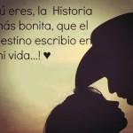 Tú eres, la historia más bonita...
