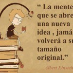 La mente que se abre a una nueva idea