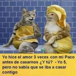Yo hice el amor 3 veces con mi Paco...