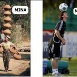 La diferencia entre una mina y Messi