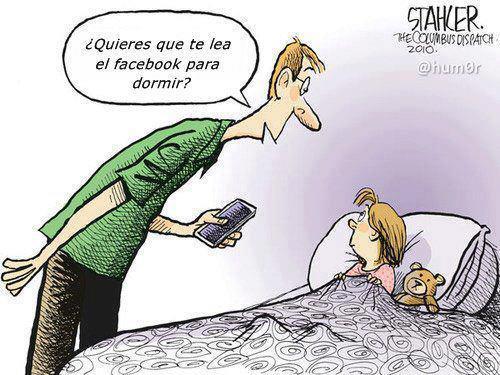 ¿Quieres que te lea el Facebook para dormir?
