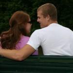 pareja pasando tiempo juntos