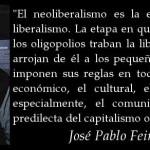 El neoliberalismo es la etapa superior del liberalismo