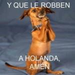 Y que le Robben a Holanda Amén